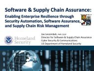 Enabling Enterprise Resilience through Security Automation ...