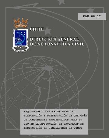 DAN 08 17 - Dirección General de Aeronáutica Civil