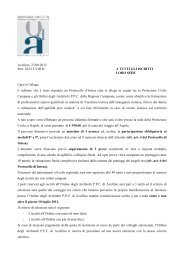 Avellino, 27/06/2012 Prot. 562/12 VIII DA TUTTI GLI ISCRITTI LORO ...