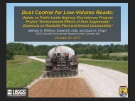 Dust Control for Low-Volume Roads: Update on Public Lands ...
