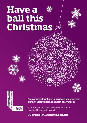 Christmas brochure - National Museums Liverpool