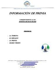 Informacion de Prensa 14052013.pdf - Poder Judicial