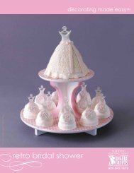 retro bridal shower - Bakery Crafts