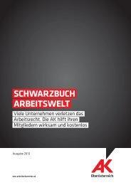 Schwarzbuch arbeitSwelt - Arbeiterkammer