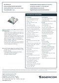 GPRS M2M MODULES - Page 2