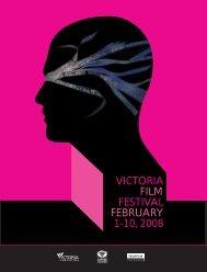 2008 Program guide - Victoria Film Festival