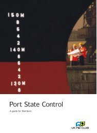 Port State Control A/W - UK P&I Members Area