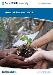 Annual Report 2009 - Monash University