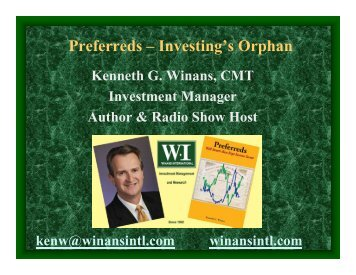 Preferreds – Investing's Orphan