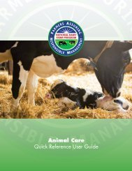 Animal Care Quick Reference User Guide