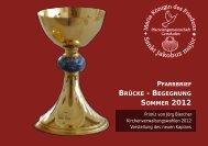 Pfarrbrief Ausgabe 22 - Sommer 2012 - Pfarreiengemeinschaft ...