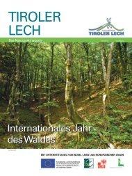 Naturparkmagazin 06 | 2011 - Naturpark Tiroler Lech