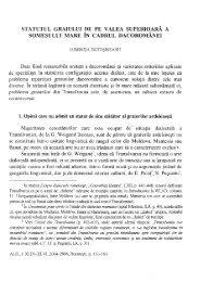 LUMINIŢA BOTOŞINEANU, Statutul graiului de pe valea ... - alil.ro