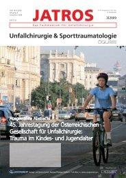 jatros - Österreichische Gesellschaft für Unfallchirurgie