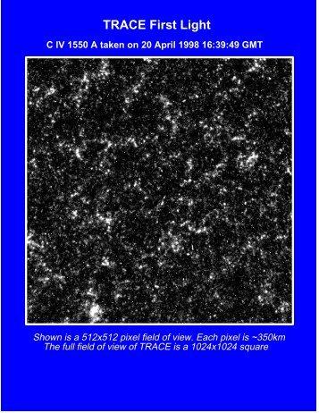 TRACE first light portfolio (PDF format)