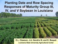 Planting Date and Row Spacing Responses of Maturity Group III, IV ...