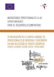 Migraciones profesionales LA-UE. Oportunidades para el desarrollo ...