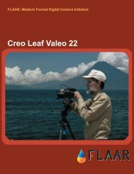 Creo Leaf Valeo 22 - Digital Photography