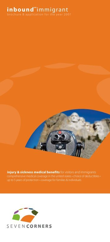 Brochure - International student insurance