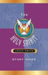 Holy Spirit Study Guide - the Firefighters for Christ MP3 Download Site!