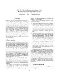 580.464: Advanced topics in computer vision Recognition of human ...