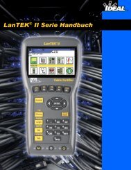 LanTEK® II Serie Handbuch