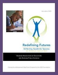 Grant Application - Durham Public Schools