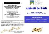 Scarica programma del concerto - Parco Regionale dei Colli Euganei