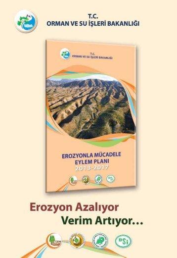 Erozyon Kontrolü - Çölleşme ve Erozyonla Mücadele Genel ...