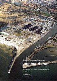 Konsekvensbeskrivning för Lomma Hamn-brohus - Lomma kommun