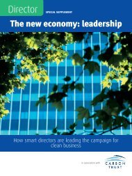 The new economy: leadership