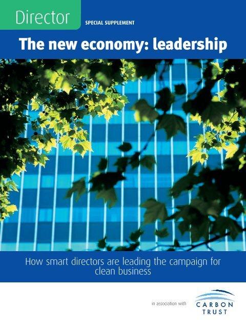 The new economy: leadership