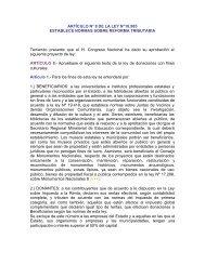 Art.8 Ley Nº 18.985 - Consejo Nacional de la Cultura y las Artes