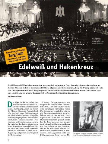 Edelweiß und Hakenkreuz - Deutscher Alpenverein