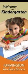 Kindergarten - rSchoolToday