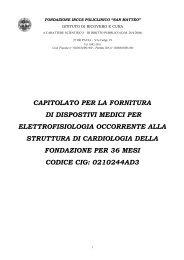 CAPITOLATO PER LA FORNITURA DI DISPOSTIVI ... - fareonline.it