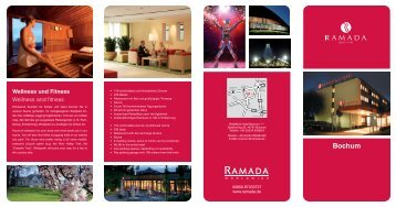 Fact Sheet Ramada Hotel - RuhrCongress Bochum