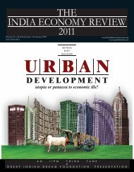 THE INDIA ECONOMY REVIEW 2011 - The IIPM Think Tank