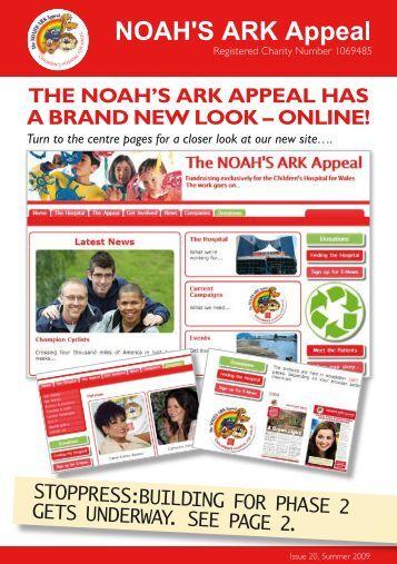 Newsletter Issue 19 - Noah's Ark Appeal