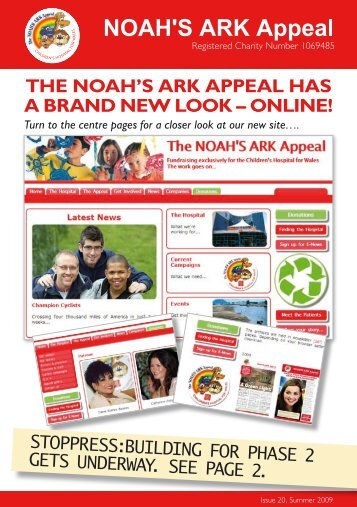 Newsletter Issue 19 - Noah's Ark Appeal