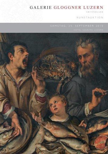 Auktionskatalog 2010 (2'853 kB - pdf) - Galerie Gloggner Luzern