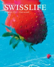 Magazine SWISSLIFE Printemps 2011