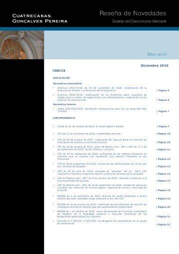 PROGRAMA DE FORMACIN - Cuatrecasas