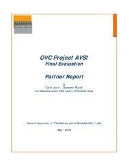 OVC Project AVSI Final Evaluation Partner Report