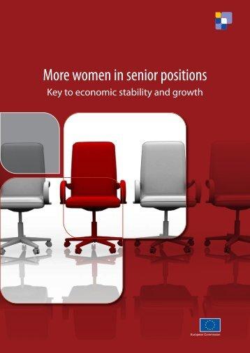 More women in senior positions - Provincia di Udine