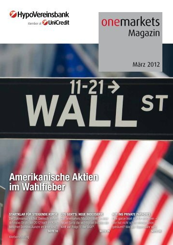 onemarkets Magazin 03/2012 - Infoboard