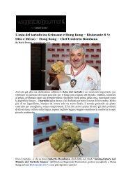 L'asta del tartufo tra Grinzane e Hong Kong ... - Asian Palate