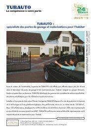 TUBAUTO : - Agence Nicole Schilling Communication
