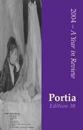 10797 Portia Issue 30 - Victorian Women Lawyers
