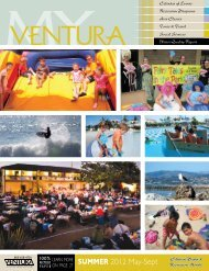 SUMMER 2012 may-Sept - City Of Ventura